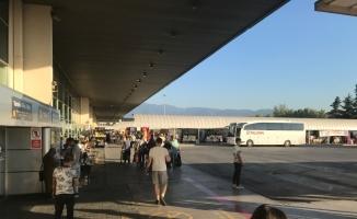 Terminal; terminal olalı, böyle tenhalık görmedi