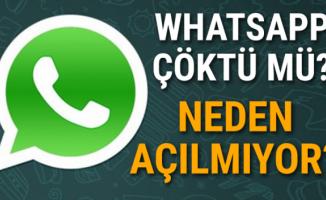 WhatsApp çöktü mü? WhatsApp'da bağlantı sorunu yaşanıyor ...