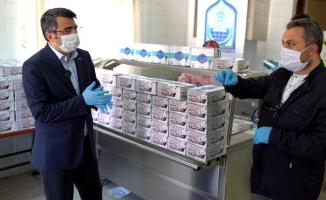 Yıldırım'da günlük 300 kişiye yemek ikramı