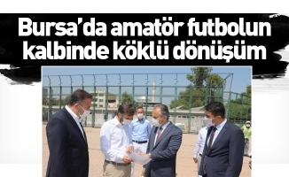 Bursa'da amatör futbolun kalbinde köklü dönüşüm