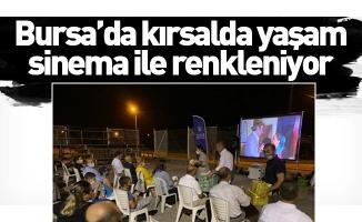 Bursa'da kırsalda yaşam sinema ile renkleniyor