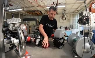 Bursalı girişimci yerli imkanlarla ürettiği motorları dünyaya ihraç ediyor