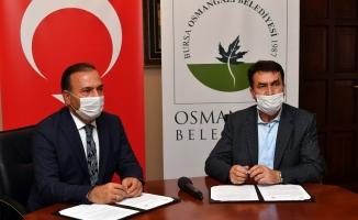 Bursa'nın en büyük çiftçi pazarı kuruluyor