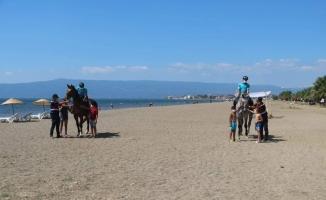 Bursa'nın sahilleri ve piknik alanları atlı jandarma timlerine emanet