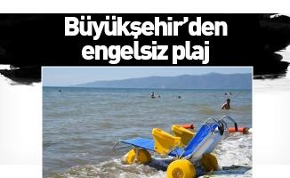 Büyükşehir'den engelsiz plaj