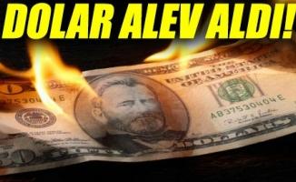 Dolar alev aldı