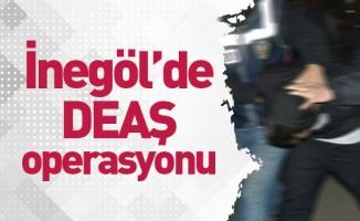 İnegöl'de DEAŞ operasyonu 5 kişi yakalandı