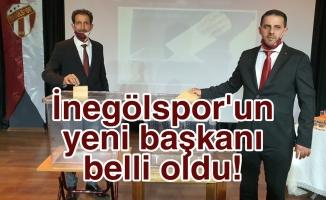 İnegölspor'un yeni başkanı belli oldu!