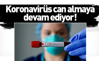 Koronavirüs can almaya devam ediyor!
