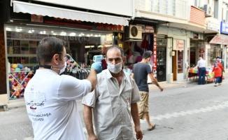 Mustafakemalpaşa'da geniş kapsamlı virüs denetimi