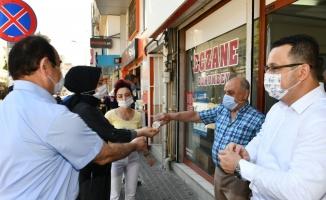 Mustafakemalpaşa'da korona ile mücadele aralıksız sürüyor