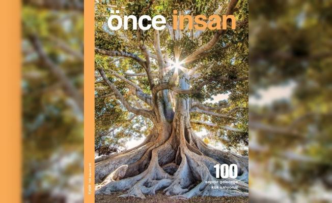 Önce İnsan dergisinin 100. sayısı yeniliklerle dolu