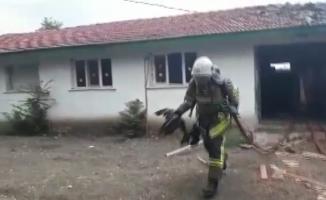 (Özel) Kahraman itfaiyeciler 3 canı ölümden böyle kurtardı