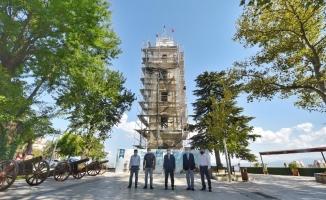 Tarihi Saat Kulesi eski ihtişamına kavuşuyor