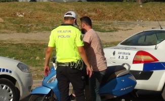 İnegöl'de motosiklet terörü