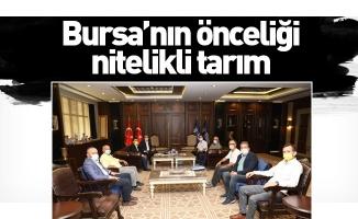 Bursa'nın önceliği nitelikli tarım