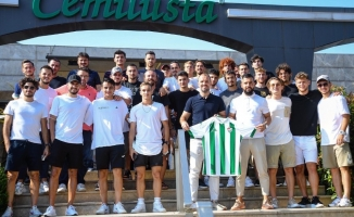 Bursaspor Altınordu maçı öncesi moral depoladı