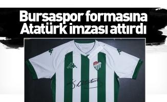 Bursaspor formasına Atatürk imzası attırdı