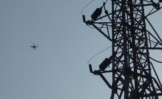 Enerjiye drone ile hızlı müdahale