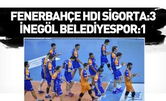 Fenerbahçe HDI Sigorta-İnegöl Belediyespor maç sonucu: 3-1