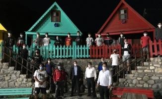 Futbolcular Gürsu Adrenalin Park'ta enerji topladı