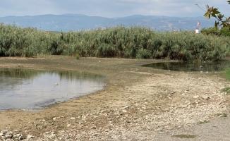 İznik Gölündeki kuraklık korkutuyor