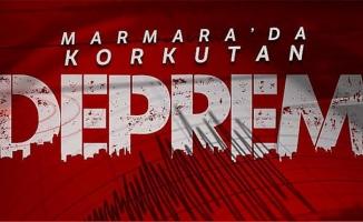 Marmara Denizi'nde 4.2 büyüklüğünde deprem!