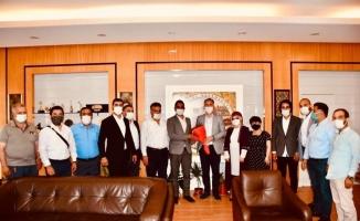 Milli Beka Hareketi'nden Başkan Taban'a ziyaret
