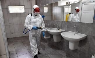 Osmangazi'de dezenfeksiyon aralıksız sürüyor
