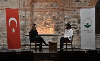 Osmangazi'de edebiyat söyleşileri başladı