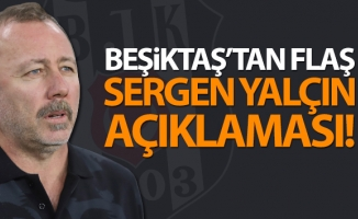 Beşiktaş'tan flaş Sergen Yalçın Açıklaması!