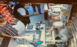 Tırnakçı kameraya yakalandı