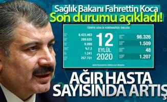 Türkiye'de son 24 saatte 1509 kişiye koronavirüs tanısı konuldu, 48 kişi hayatını kaybetti