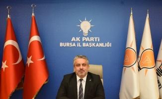 Ak Parti Bursa'da hedef 500 bin üye