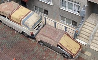 Arabanı yorganına göre park et