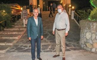 Başkan Özkan, Numan Kurtulmuş'a Karacabey'in güzelliklerini anlattı