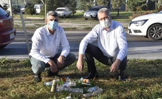 Başkan Özkan'dan çevre temizliği