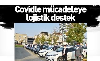 Bursa Büyükşehir'den filyasyon ekiplerine 50 araçlık destek