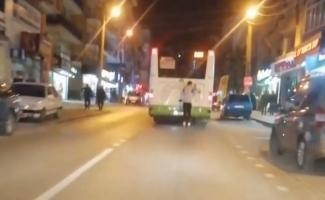 Bursa'da ölümüne yolculuk kamerada