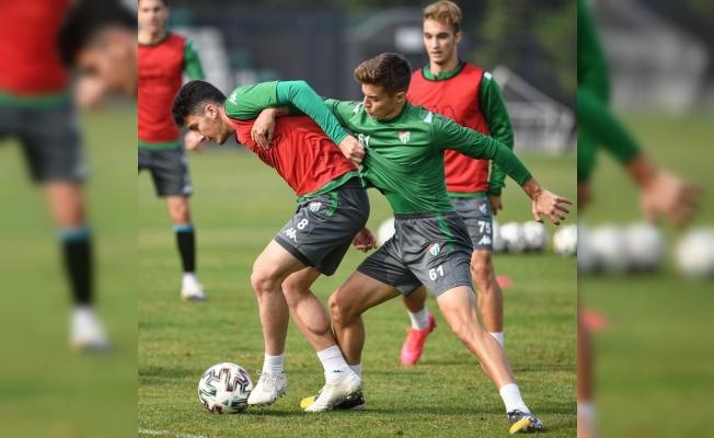 Bursaspor ara vermeden Boluspor maçı hazırlıklarına başladı