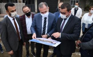 İnegöl'de Naim Süleymanoğlu Parkı Yükseliyor