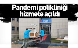 İnegöl devlet Hastanesi'nde pandemi polikliniği hizmete açıldı