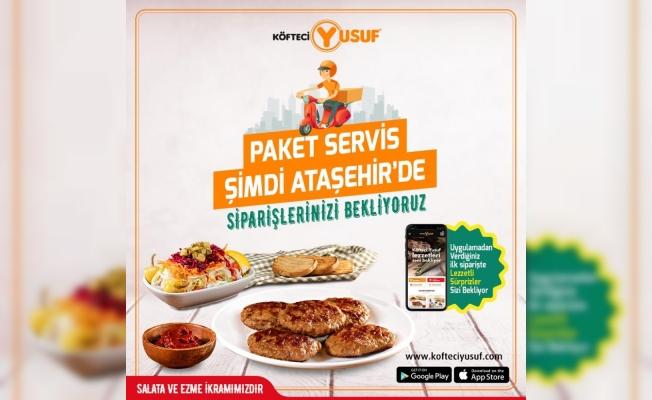 Köfteci Yusuf'tan İstanbul Ataşehir'e özel kampanya