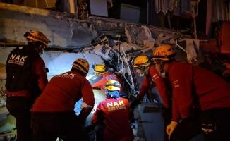 Nilüfer Arama Kurtarma ekipleri deprem bölgesinde