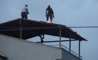 (Özel) 20 metrede maskeyi çıkarmadılar ama iş güvenliğini hiçe saydılar