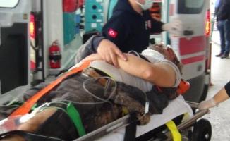 Sunta fabrikasında iş kazası: 1 yaralı