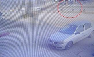 2 kişinin öldüğü 3 kişinin yaralandığı feci kaza saniye saniye kameraya yansıdı