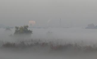Bursa ovası sisler içinde kaldı