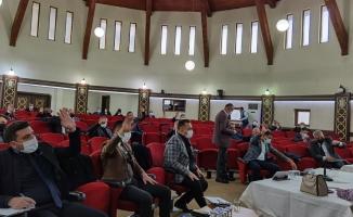 İnegöl'de yılın son meclis toplantısı yapıldı