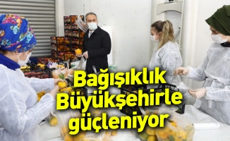 Bağışıklık Büyükşehirle güçleniyor